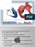 Apple vs Samsung Presentation