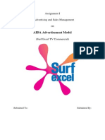 AIDA Deconstruction of Surf Excel Ad