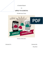 Apple vs Samsung Controversy