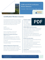 CCRN & PCCN Certification Review Courses in October (1)