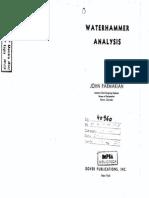9471789 Water Hammer Analysis Parmakian