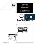 Mutoh Drafstation & Drafstation Pro Service Manual