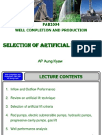 Selection of Artificial Lift Types