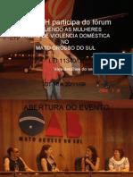 CEADDH PARTICIPA DO VII SEMINÁRIO  PROTEGENDO AS MULHERES