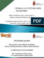 Investigación Bullying en Sinaloa