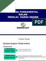 4 Analisa Fundamental