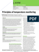 Principles of Temperature Monitoring