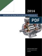Reporte de Practicas Sobre Motores y Generadores