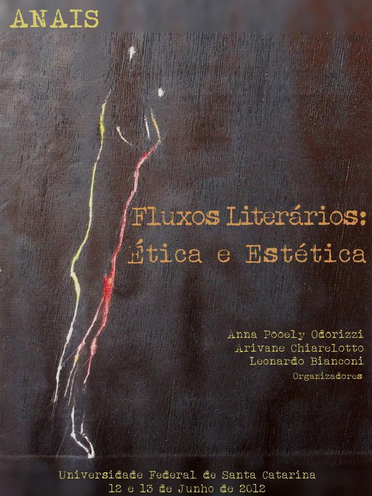 213859180 anais e book fluxos literarios etica e estetica fandeluxe Images