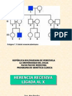 Enf Recesivas Ligadas Al X