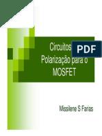 Circuitos de Polarização Para o MOSFET