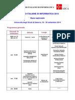 OII-Programma Fisciano 2014