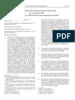 Directiva 2001_83_CE 06 Noviembre