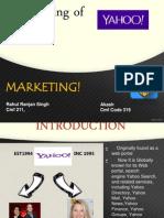 Marketing rebranding yahoo