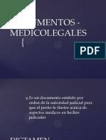 DOCUMENTOS - MEDICOLEGALES.pptx
