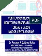 MR Con Ondas y Lazos. Modos Ventilatorios. 2010.FGM