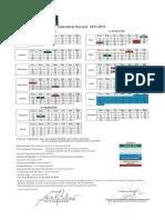 Calendar i o Escola r 20132014