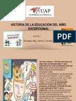 Semana 1 Historia de La Educacion Del Niño Excepcional (1)