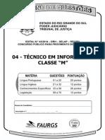 c 04 - Técnico Em Informática Classe m - 70q