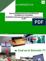 Nuevas Reglamentaciones de Eficiencia Energetica en Inmueble