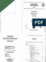 Resistência Dos Materiais - Ferdinand P Beer - Russell Jonhnsion JR - 3 Edição