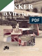 Fokker d.vii in Detail - German:English