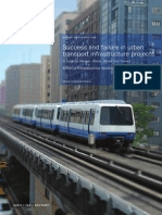 Success Failure Urban Transportation Infrastructure Projects