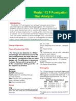 Fumigation Analyzer