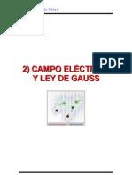 3.- 2Cap CAMPO ELÉCTRICO y LEY DE GAUSS 19-38
