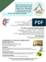 informational flyer 2014