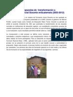 Propuesta de transformacion formacion docente.pdf