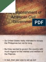 The Establishment of Civil Government