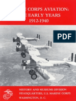 Marine Corps Aviation. the Early Years 1912-1940