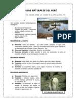Recursos Naturales Del Perú