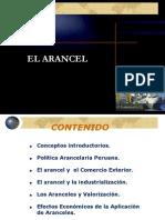 POLITICAS ARANCELARIAS PERUANA