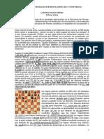 Lecciones de Estrategia en Partida de Ajedrez
