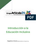 Clase 1. Introducción a La Educación Inclusiva