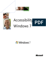 Accessibility in Windows7