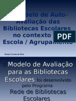 Modelo de Auto-Avaliacao Das BE Teresa