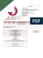 Cotización Pistola y Manguera Helicoidal F2942