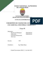 Informe de Exposicion Aguas, Expo