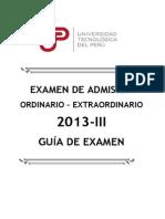 Guia Examen Ordeniario 2013 III