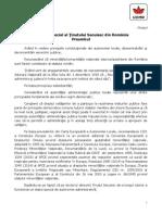 Proiectul de autonomie al UDMR