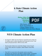 New York State Climate Action Plan Hudson Valley Climate Change Network Workshop