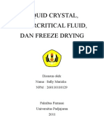 Pemanfaatan Liquid Crystal Dan Supercritical Fluid Dalam Dunia Farmasi Dan Kesehatan