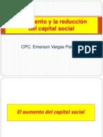 El Aumento y La Reduccion Del Capital Social 1