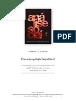 Antropologia Do Politico