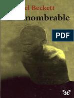 010.3 Beckett, Samuel - El Innombrable (r1.0)