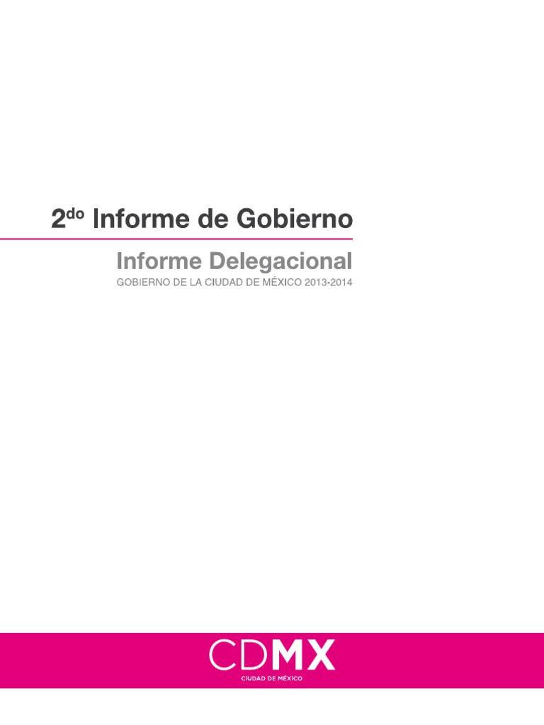 Informe Delegacional 2013-2014