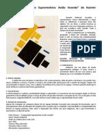 Projeto Criativo - Suprematismo (Suplementos e Referências)